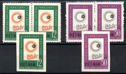 VIET-NAM NORD - YT N° 358-359 X2 + 1x ND - Neufs ** - MNH - Cote: 18,00 € - Vietnam