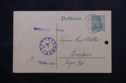 ALLEMAGNE - Entier Postal De Fellhammer Pour Breslau En 1915 - L 60116 - Ganzsachen
