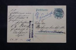 ALLEMAGNE - Entier Postal De Aachen Pour Berlin Et Redirigé En 1911 - L 60117 - Ganzsachen