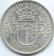 Southern Rhodesia - George V - 1936 - ½ Crown - KM5 - AUNC - Rhodesia