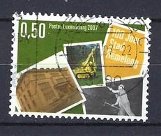 Luxemburg 2007, Nr. 1749, 100 Jahre Stadtrecht Für Rümelingen Gestempelt Luxembourg - Used Stamps
