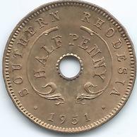 Southern Rhodesia - George VI - 1951 - ½ Penny - KM26 - UNC - Rhodésie