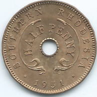 Southern Rhodesia - George VI - 1951 - ½ Penny - KM26 - UNC - Rhodesië