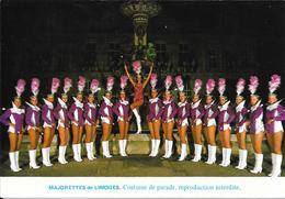 MAJORETTES De LIMOGES - Costume De Parade.............. - Personnages
