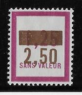 France Fictif N°61 - Neuf * Avec Charnière - TB - Fictifs
