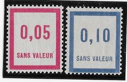 France Fictif N°26/27 - Neuf * Avec Charnière - TB - Fictifs