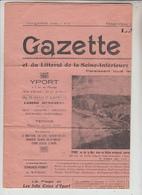 "76  - YPORT  -  Un Journal -  ""Gazette Yportaise )  1927 - Yport"