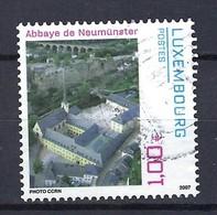Luxemburg 2007, Nr. 1754, Orte Der Kultur Kulturtreffpunkt Abtei Neumünster (CCRN),, Gestempelt Luxembourg - Oblitérés