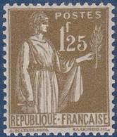 N°__287 TYPE PAIX. TIMBRE NEUF ** 1932-33 - Nuevos