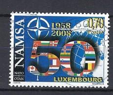 Luxemburg 2008, Nr. 1788, 50 Jahre NATO-Agentur Für Materialerhaltung Und Ersatzteilversorgung Gestempelt Luxembourg - Used Stamps