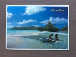 Cartolina Viaggiata Bora-Bora (Polinesia Francese) - Polynésie Française