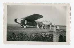 """""""Le Zoute"""" Aout 1937 """"Allons Volons!"""" Tirage Original D'époque. 1937 FG0914 - Aviation"""