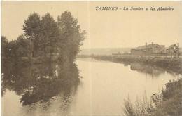 BELGIQUE.  TAMINES.  LA SAMBRE ET LES ABATTOIRS - Belgique