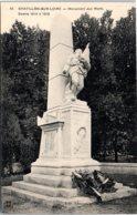 45 CHATILLON SUR LOIRE - Monument Aux Morts - Chatillon Sur Loire