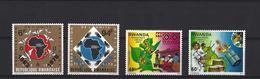 Rwanda:  899/ 900 + 917/ 918 ** - Ruanda