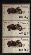 Espagne España 2004 N° Distributeur 89 ** Moto, Motocyclette, Side-Car, DKW, 1938, Dampf-Kraft-Wagen, Vapeur, Nazi, Juif - 1931-Today: 2nd Rep - ... Juan Carlos I