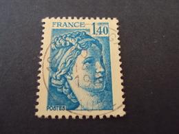 "1977-81 Oblitéré N° 1975     ""SABINE De Gandon  1.40   ""   Net    0.60  ""   Troyes-Gare "" - 1977-81 Sabine De Gandon"