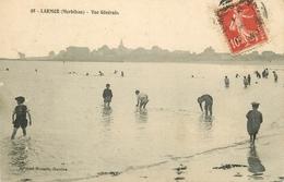 PHL 56 LARMOR PLAGE. Enfants Au Bains à La Plage 1909 - Larmor-Plage