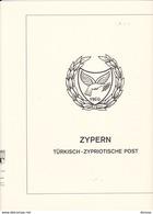 LINDNER T 298 CHYPRE TURC 1974-1981, P.1-10. - Albums & Reliures
