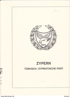 LINDNER T 298 CHYPRE TURC 1974-1981, P.1-10. - Albums & Binders