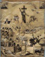 BIBLE FIN 18e PREMIERE DIAPOSITIVE DIAPO PAPIER CALQUE LANTERNE MAGIQUE VENEZ LES BENIS DE MON PERE ST JEAN ST VINCENT - Religion &  Esoterik