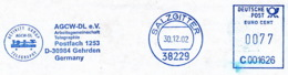 Freistempel 0623 Arbeitsgemeinschaft Telegraphie - Marcophilie - EMA (Empreintes Machines)