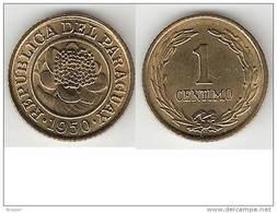 Paraguay 1 Cent 1950  Km 20   Unc !!! - Paraguay