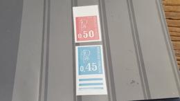LOT501014 TIMBRE DE FRANCE NEUF** LUXE NON DENTELE N°1663/1664 - Ongetand