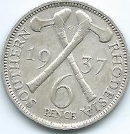 Southern Rhodesia - George VI - 6 Pence - 1937 - KM10 - Rhodesia