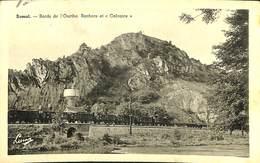 026 926 - CPA - Belgique - Bomal - Bords De L'Ourthe - Rochers Et Calvaire - Durbuy