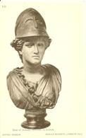 London - British Museum - Donald Macbeth - Bust Of Athena In Bronze - Sculptures