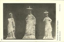 London - British Museum - Terracotta Figures From Tanagra - Sculptures
