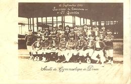 SOCIÉTÉ DE GYMNASTIQUE DE DOUAI   - 19/09/1905 Souvenir Du Concours De ST Quentin - Douai