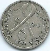 Southern Rhodesia - George VI - 1944 - 6 Pence - KM17a - Rhodesia