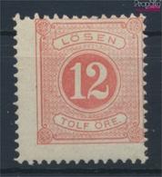 Schweden P5B Mit Falz 1877 Portomarken (9444719 - Neufs