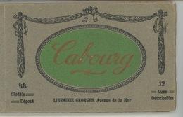CABOURG - Carnet Complet De 12 Vues - Cabourg