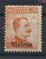 Ägäische Inseln 11VII Mit Falz 1912 Aufdruckausgabe Nisiros (9438171 - Aegean (Nisiro)