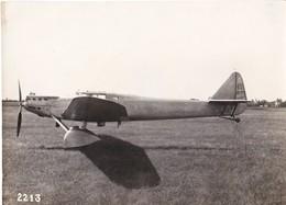 Photo Ancienne Avion Dewoitine D33 Numéro 2  Hispano-Suiza  650 Ch, - Aviación