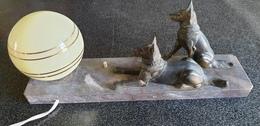 ANCIENNE LAMPE De Bureau – Veilleuse / Liseuse De Chevet - TEDD – 1930. - Unclassified