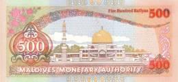MALDIVES P. 23 500 R 1996 UNC - Maldives