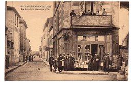 CPA 83 - SAINT RAPHAEL - LA RUE DE LA GARONNE - Saint-Raphaël