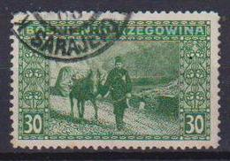 BOSNIA EZERGOVINA  1906 VEDUTE UNIF. 37 USATO VF - Bosnia Erzegovina