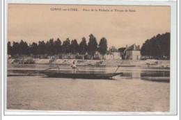 COSNE SUR LOIRE : Place De La Pêcherie Et Tireurs De Sable - Très Bon état - Cosne Cours Sur Loire