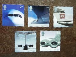2002  50th Anniversary Of Passenger Jet Aviation Airliners   SG = 2284/ 2288   **  MNH - Ungebraucht