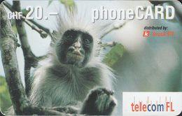 Liechtenstein - Lie 22B - Monkey - Prepaid - 20 CHF - Liechtenstein