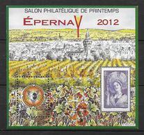 CNEP - 2012 - BLOC Du SALON De EPERNAY - YVERT N°60 ** MNH - CNEP