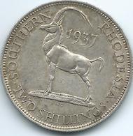 Southern Rhodesia - George VI - 1937 - Two Shillings / Florin - KM12 - Rhodesia