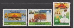 2008 Myanmar Referendum Day Set Of 3 MNH - Myanmar (Burma 1948-...)