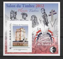 CNEP - 2012 - BLOC Du SALON De PARIS / HISTOIRE DE FRANCE NAPOLEON ... - YVERT N°61 ** MNH - CNEP