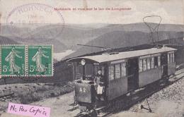 88- HOHNECK- GERARDMER- TRAMWAY Gros PLAN- 10 Août 1913-Ecrite-Timbrée--(5/5/20) - Autres Communes